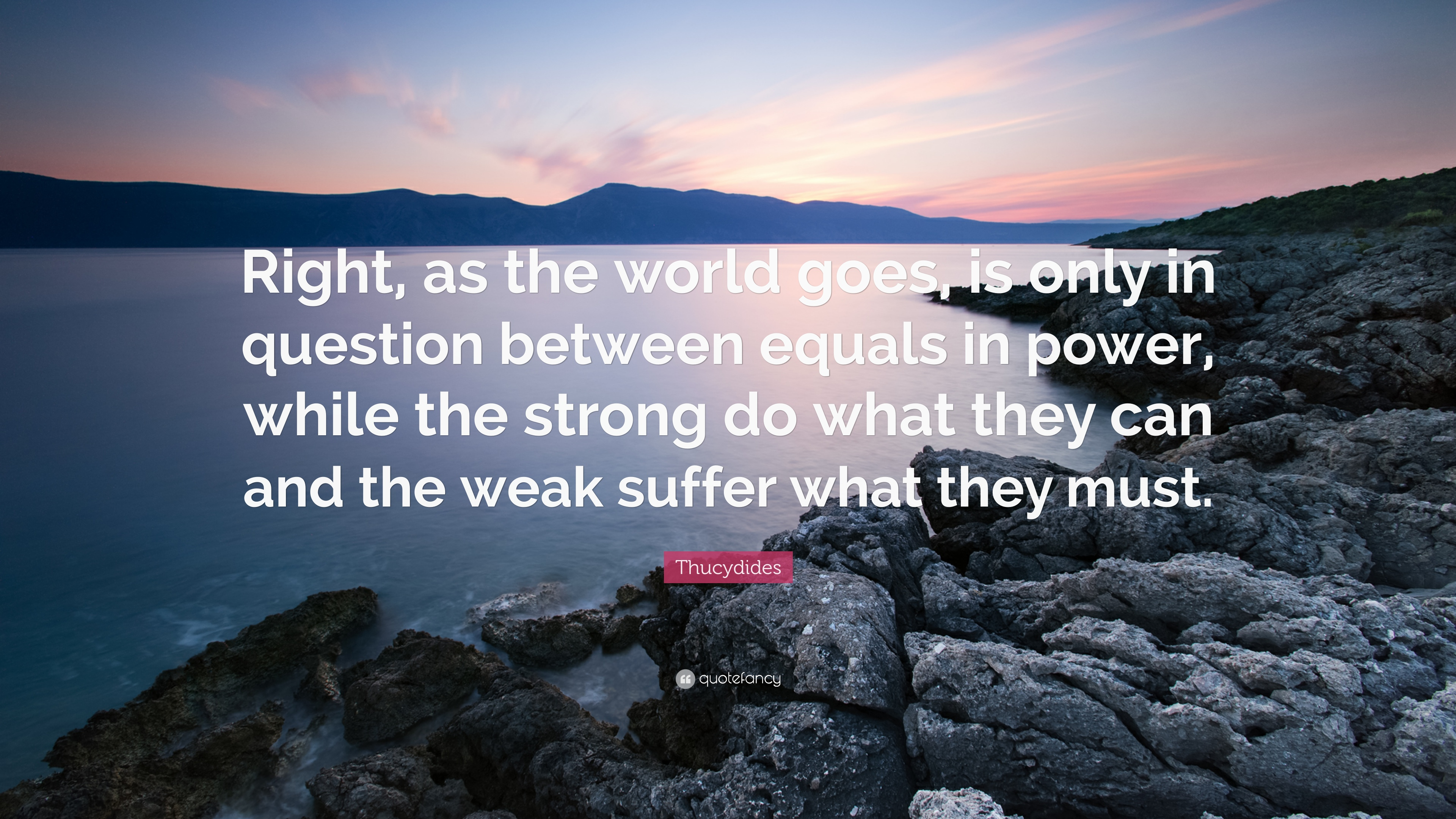 the weak suffer what they must epub