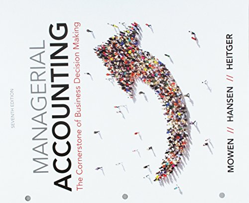 cornerstones of managerial accounting ebook