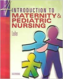 introduction to maternity and pediatric nursing ebook