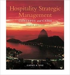 hospitality strategic management concepts and cases ebook